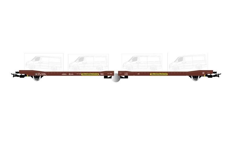 3achs. Autotransp.br., Transw. 4x Sprinter, Ep.V-VI, DC, H0