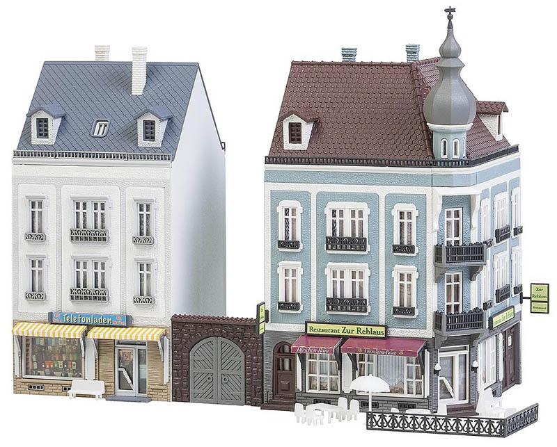 2 Stadthäuser Beethovenstraße Bausatz N