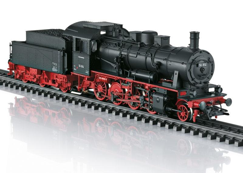 Güterzug-Dampflok BR 56 der DB, mfx+, Sound, AC, Spur H0