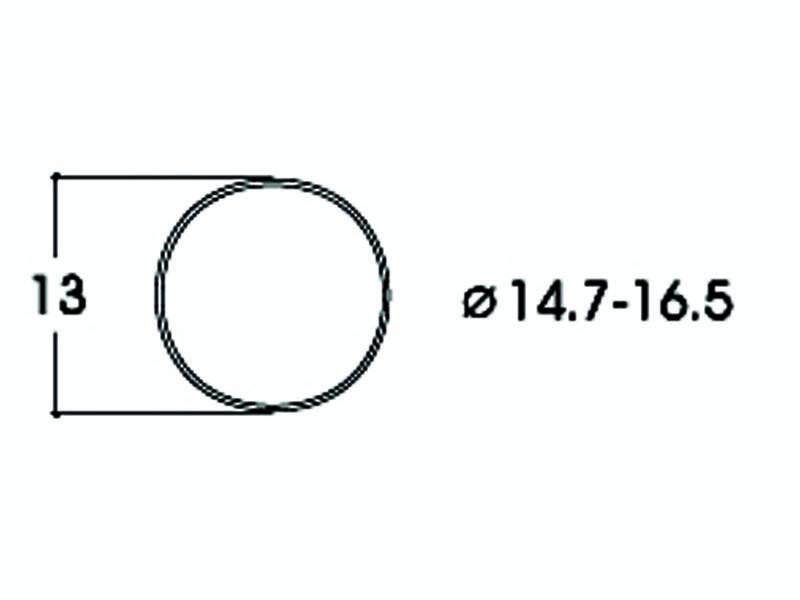 Haftringsatz DC 14,7-16,5 mm H0