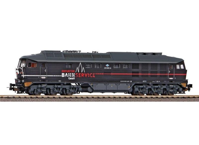Diesellok BR 232 Erfurter Bahn Service, Ep. VI, DC, Spur H0