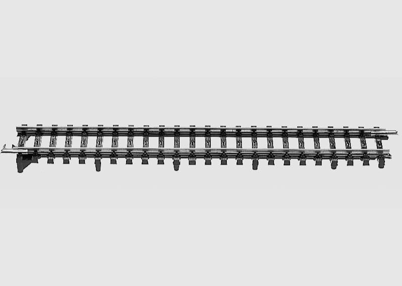 Übergangsgleis 180 mm K-Gleis auf M-Gleis Spur H0 K-Gleis