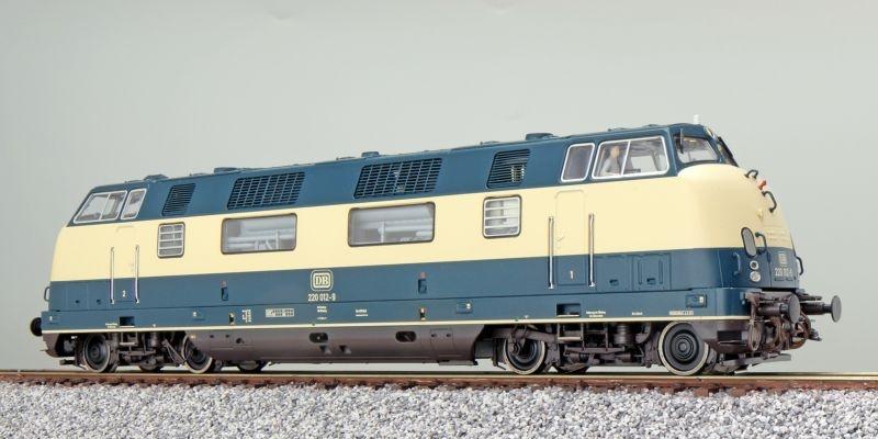 Diesellok 220 012 DB ozeanblau/beige, Sound+Rauch, DC/AC, H0