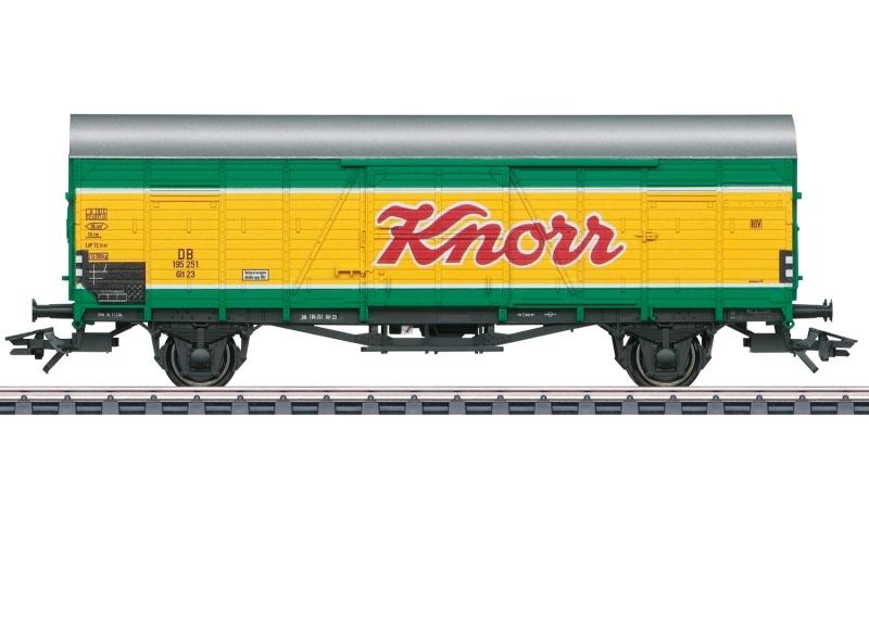 Gedeckter Güterwagen Glt 23 Knorr, AC, Spur H0