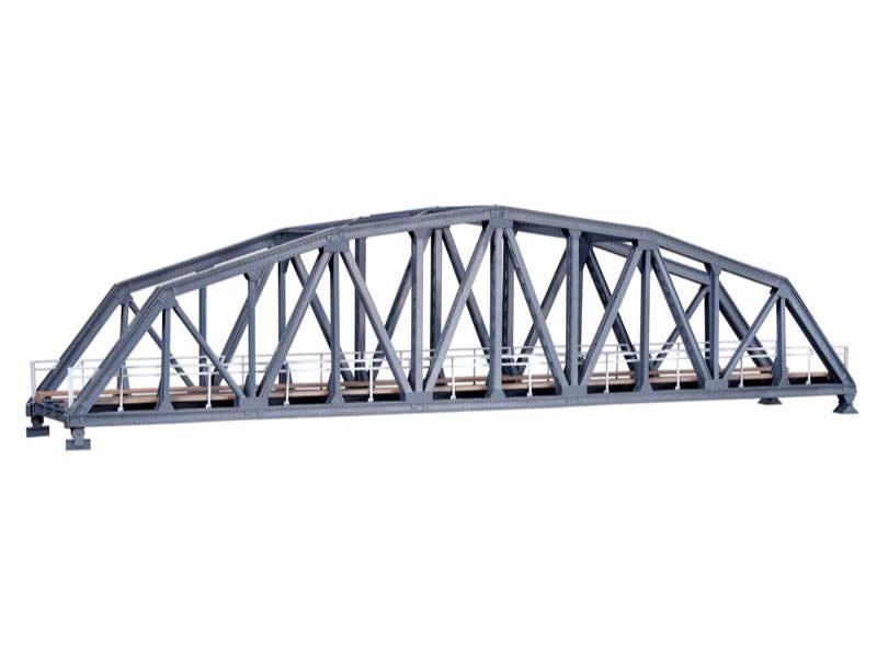 Stahlbogenbrücke, eingleisig, Bausatz, Spur H0