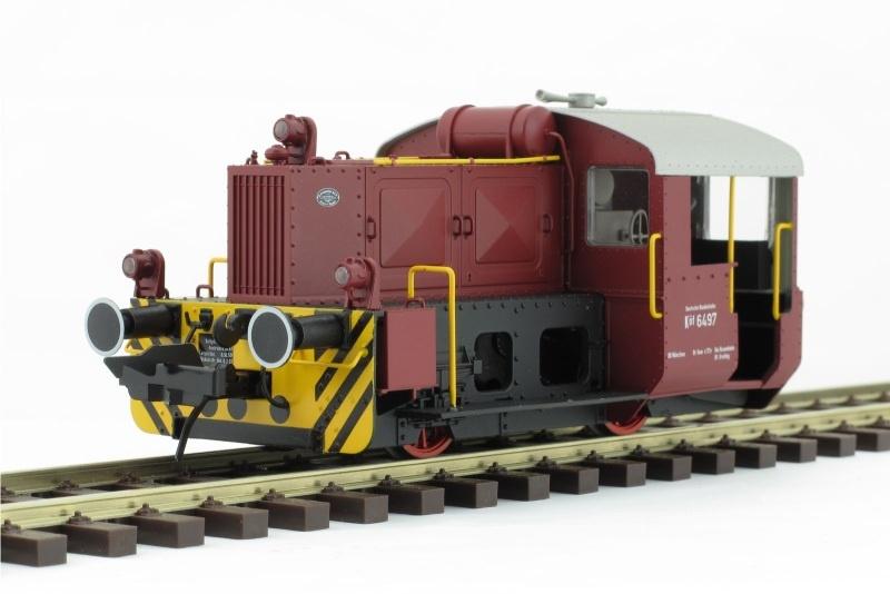 Diesellok Köf 2, DB, Ep.3, Betr.-Nr. 6497, Spur 0