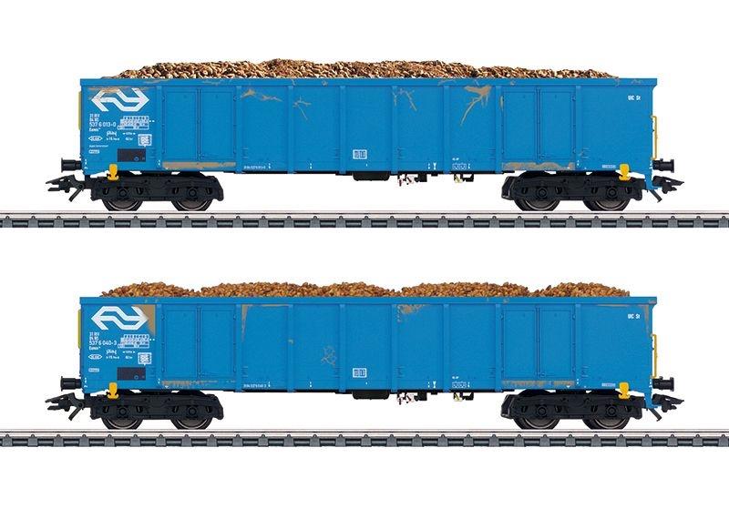 Hochbordwagen-Set Rübentransport der NS, Ep. IV, Spur H0