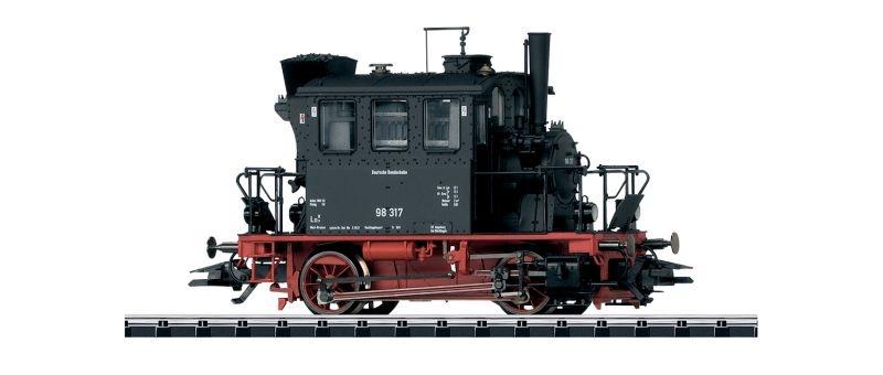 Dampflokomotive BR 98.3 der DB, Epoche III, Spur H0