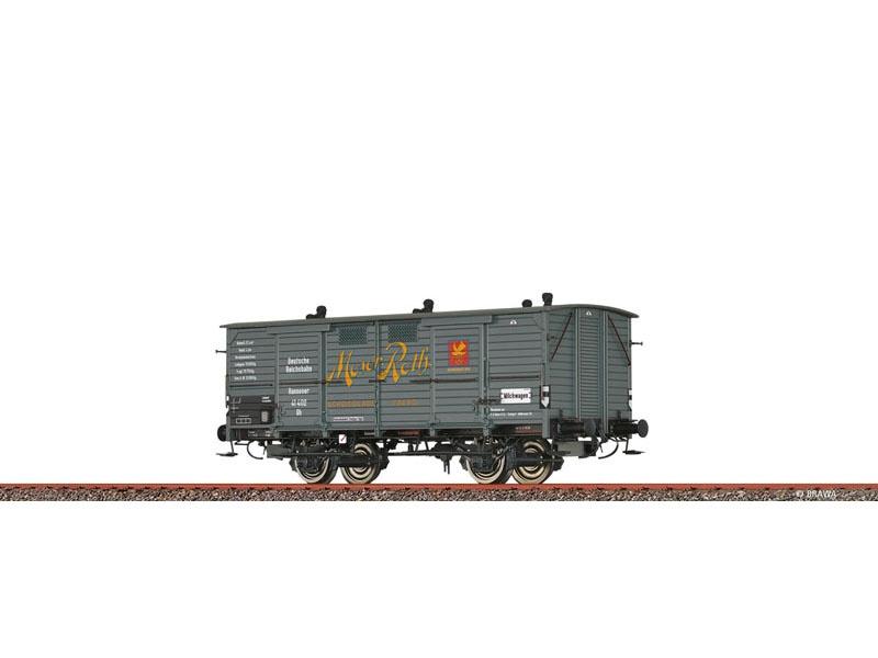 Gedeckter Güterwagen Gh DRG, II, Moser, DC, Spur H0