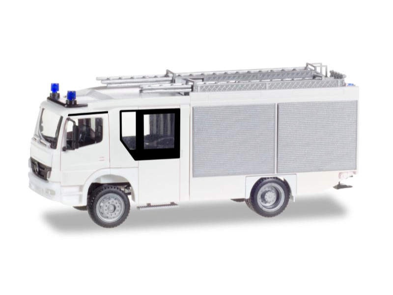 Minikit: Mercedes-Benz Atego Ziegler Z-Cab LF 20, weiß, 1:87
