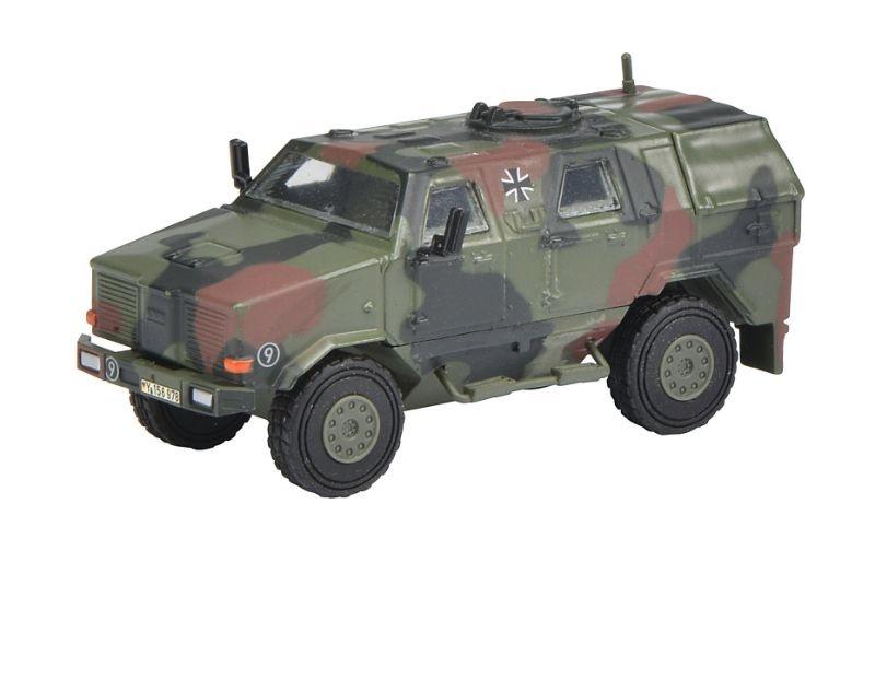 Dingo I, Allschutzfahrzeug Bundeswehr, flecktarn 1:87 / H0