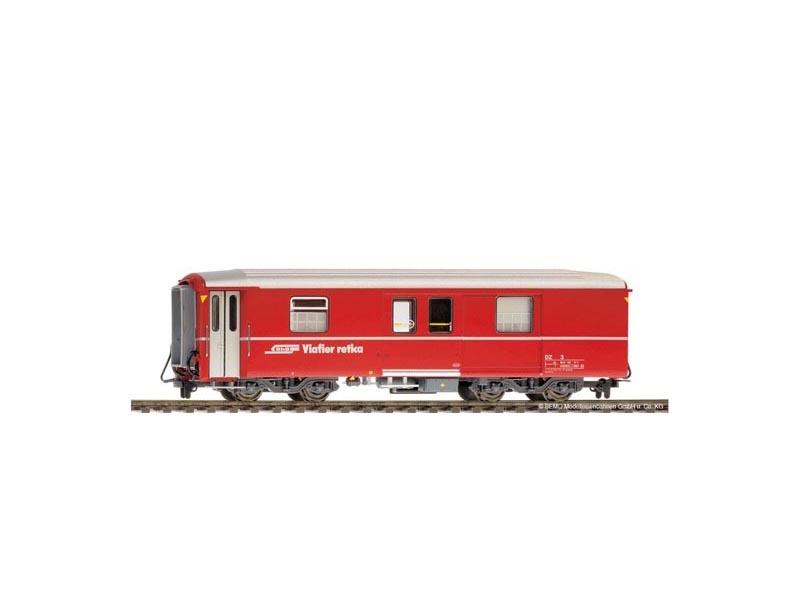Packwagen rot DZ 4232, (ca. 2000-2010) der RhB, Spur H0m