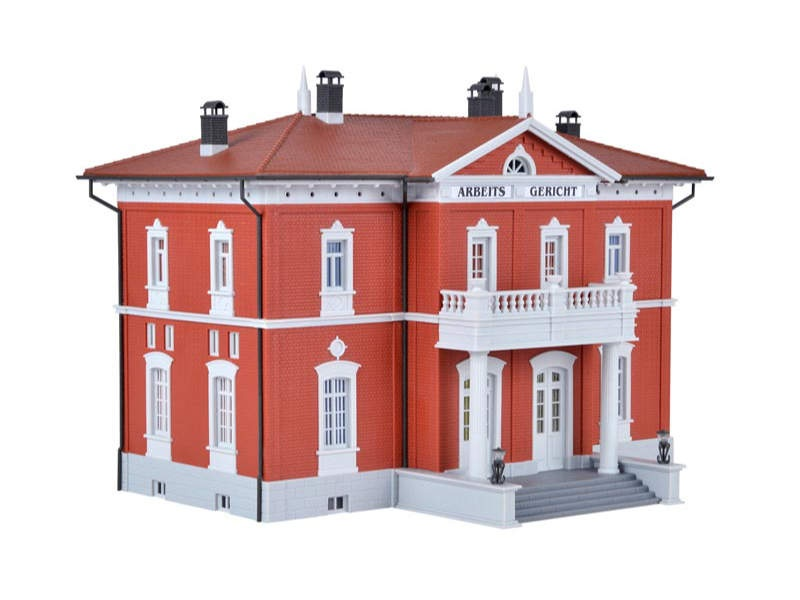 Gerichtsgebäude, Bausatz, Spur H0