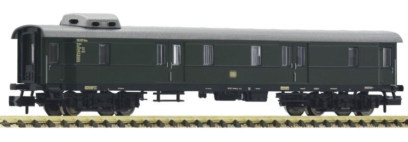Schnellzug Gepäckwagen Düe 941 der DB, DC, Spur N