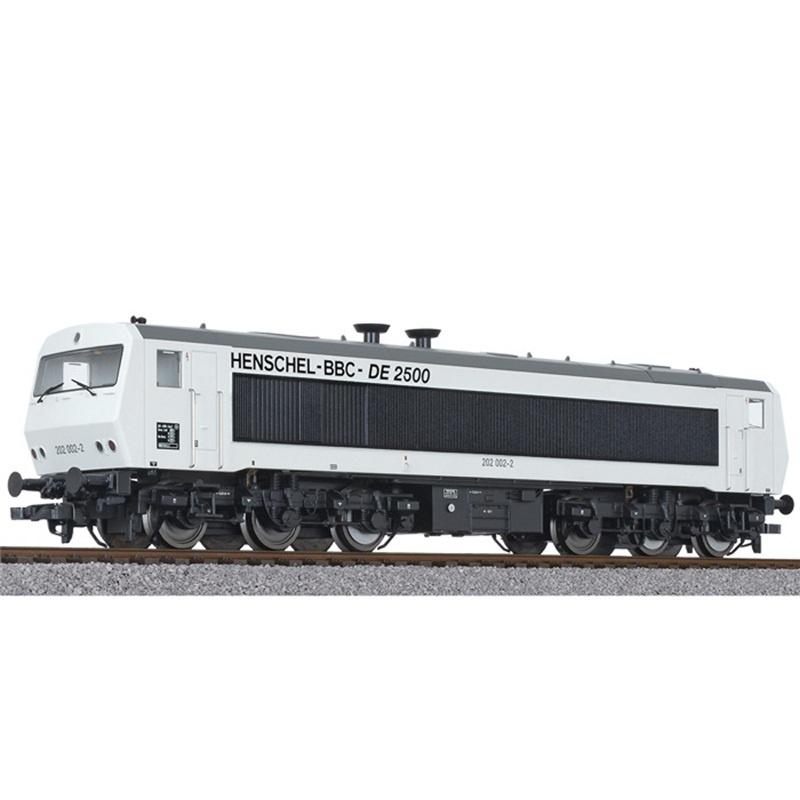 Diesellok DE2500 202 003-0, 6-achsig, DB, weiß, Ep.IV, H0