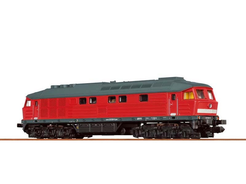 Diesellokomotive 232 der DB, VI, EXTRA, Sound, DC, Spur N