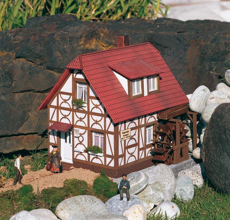 Wassermühle Rosenbach, Bausatz, Spur G