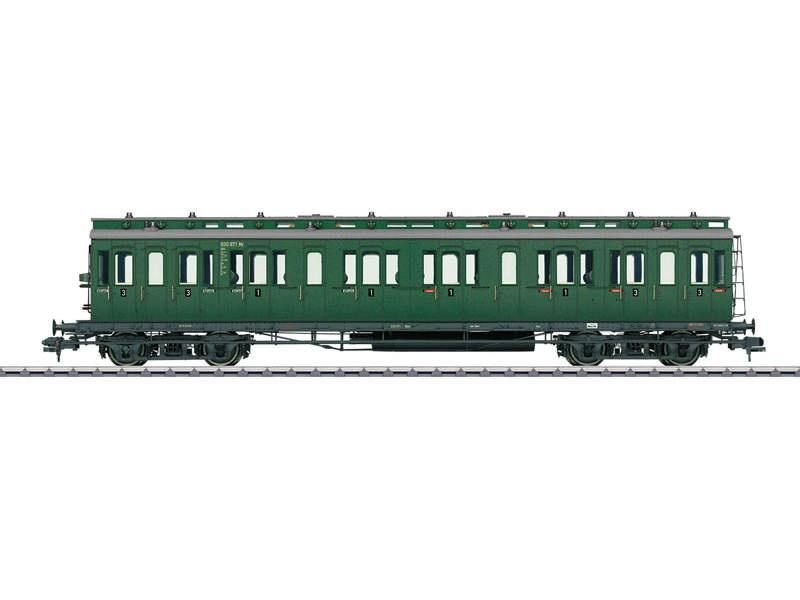 Personenwagen AB4 1./2. Klasse DB Spur 1