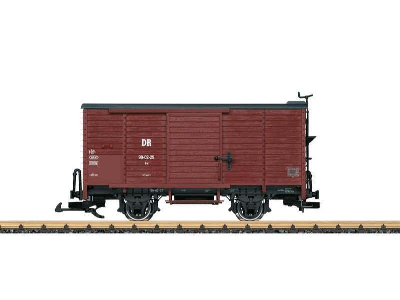 DR gedeckter Güterwagen Spur G