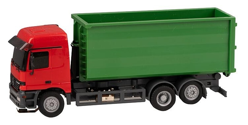 LKW MB Actros LH96 Abrollcontainer (HERPA), 1:87 / Spur H0