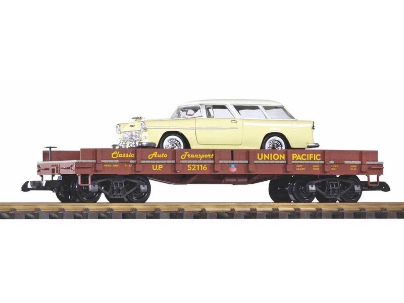 Autotransportwagen mit Diecast Auto (Chevy Nomad), Spur G
