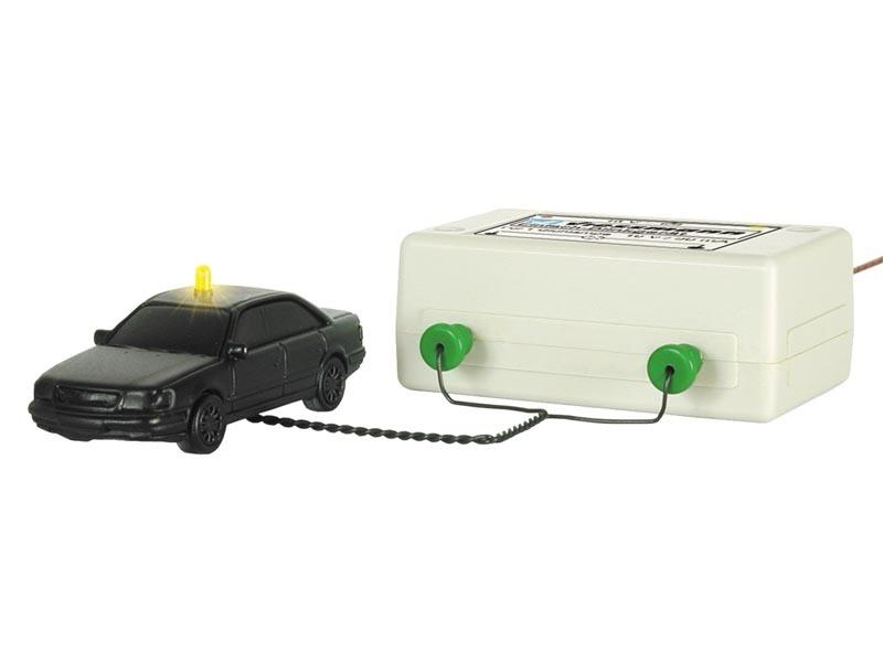 Einfach-Blinkelektronik mit gelber Glühlampe, Spur H0