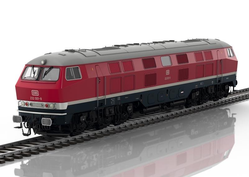 Diesellokomotive BR 232 001 der DB, mfx, DCC, Spur 1
