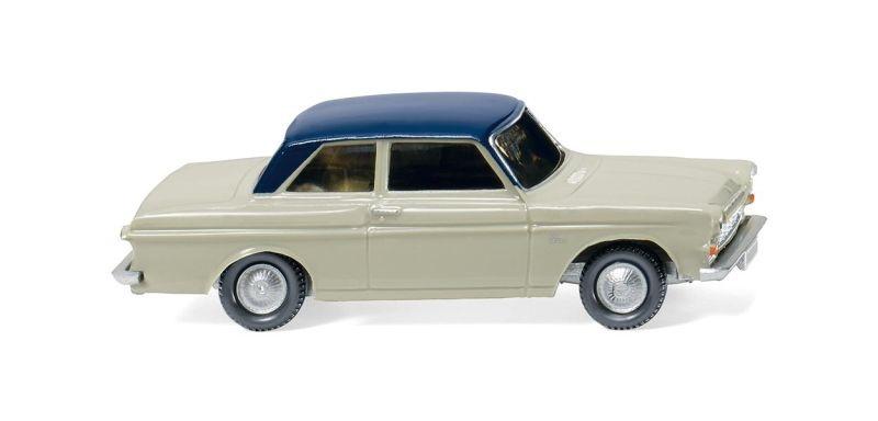 Ford Taunus 12M - kieselgrau/kobaltblau 1:87 / H0