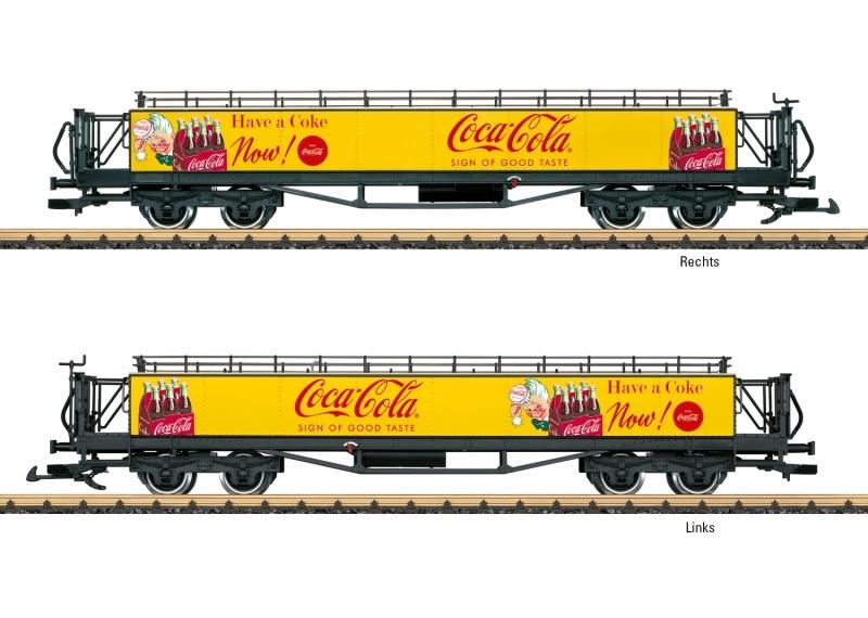 Coca Cola Aussichtswagen, Spur G