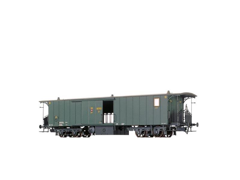 Gepäckwagen der SBB, II, DC, Spur N