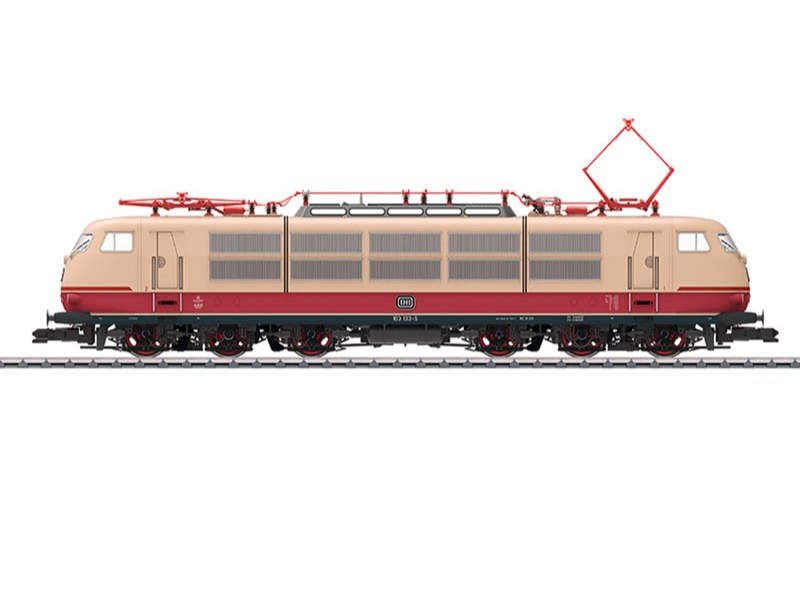 Elektrolokomotive BR 103.1 DB Sound mfx Spur 1