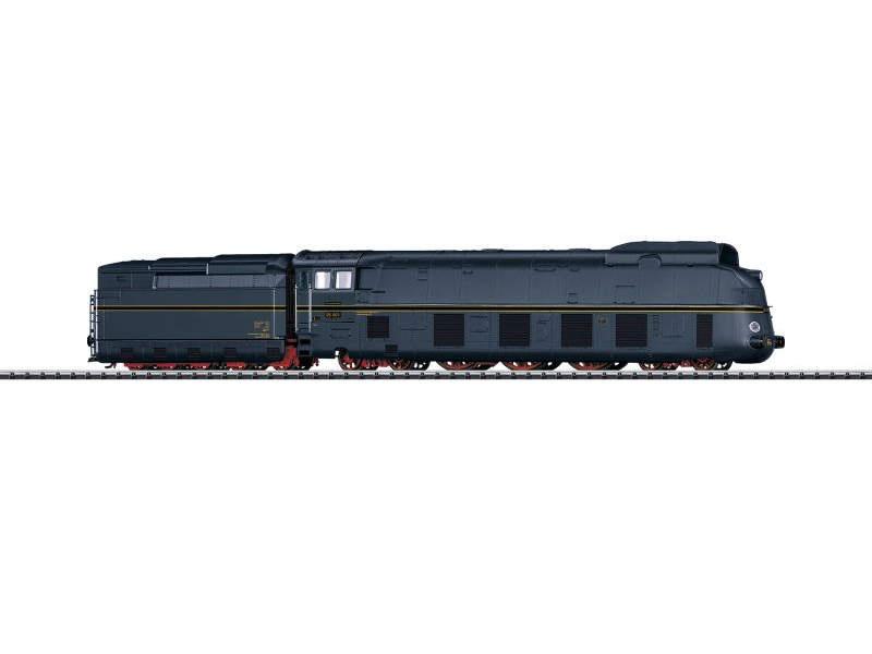 Stromlinien-Dampflok BR 05 mit Schlepptender, mfx, DCC, H0