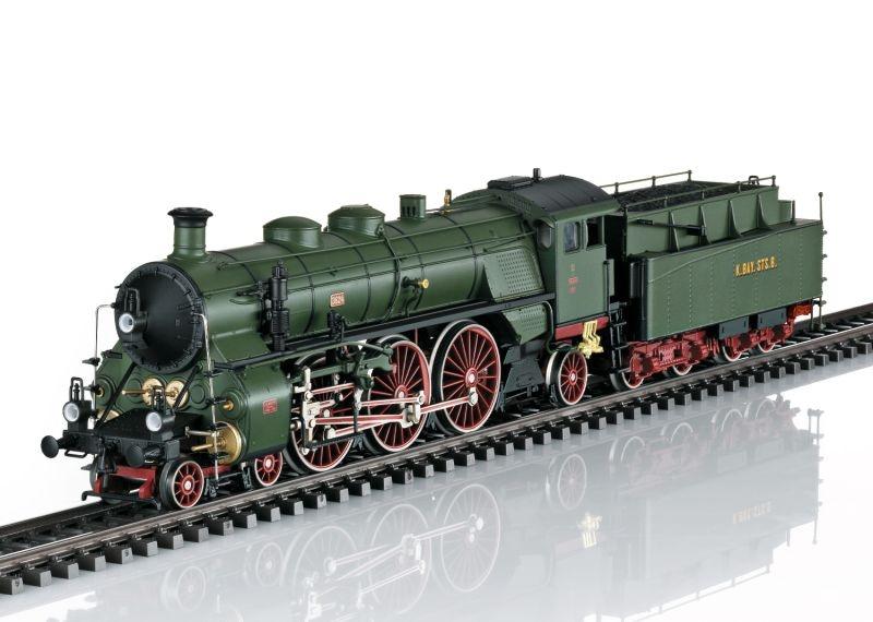 Sound-Dampflokomotive S 3/6, die Hochhaxige, Epoche I, H0