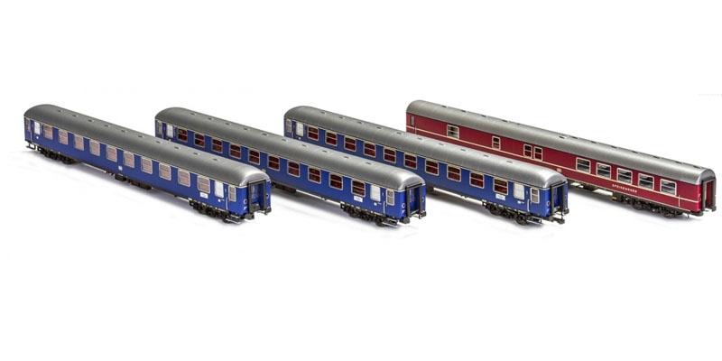 4tlg Messezug Hannover der DB Ep.IV, AC, Spur H0