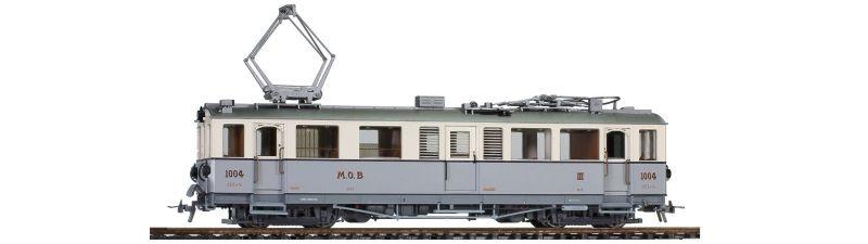 MOB CFZe 4/4 1004 Triebwagen, Sound, Spur H0m