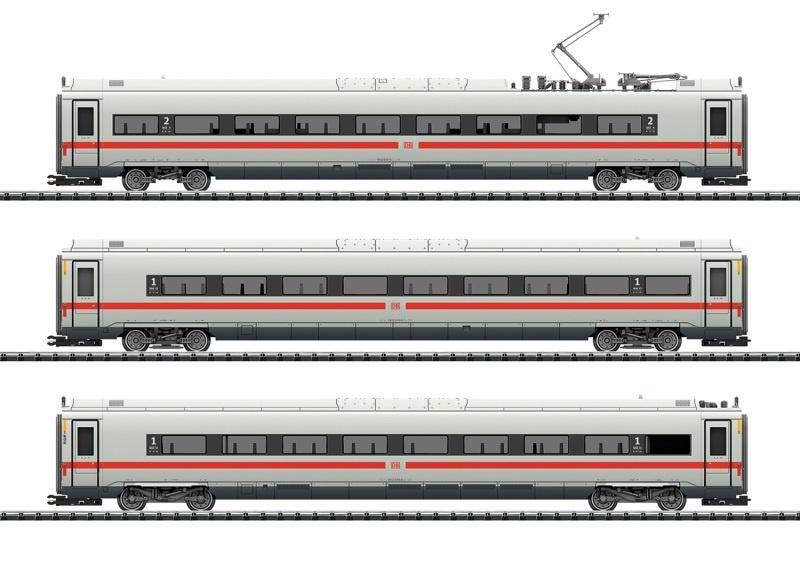 Ergänzungswagen-Set zum ICE 4, DB AG, DC, Spur H0
