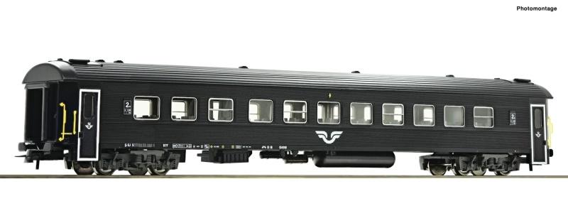 Reisezugwagen 2. Klasse der SJ, DC, Spur H0