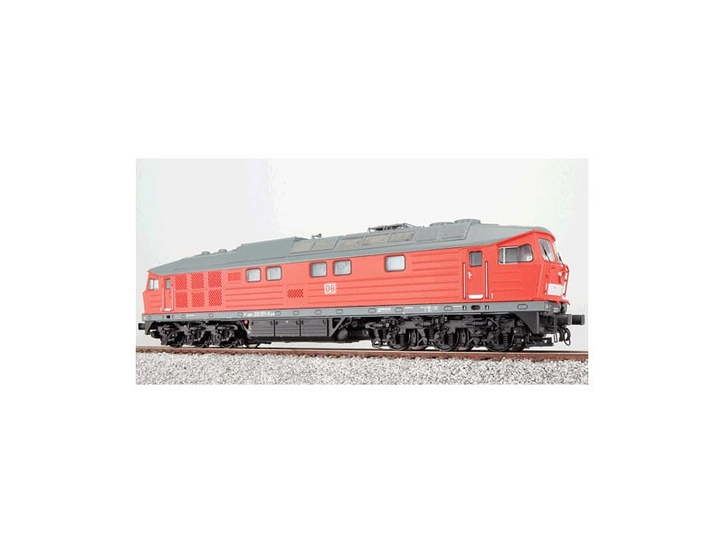 Diesellok BR 232 571 der DB, verkehrsrot, Epoche VI, Spur H0