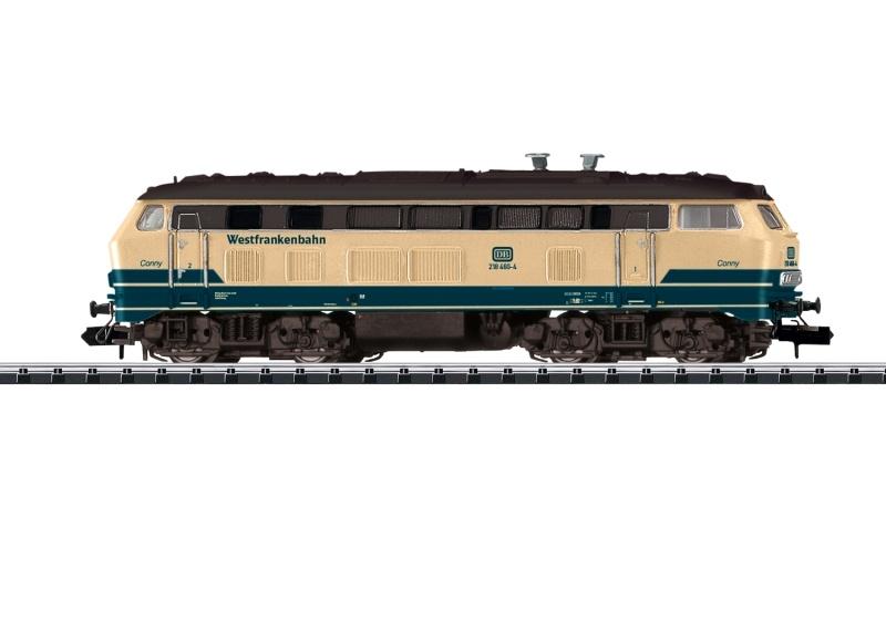 Diesellokomotive BR 218 der DB AG, Sound, Minitrix Spur N