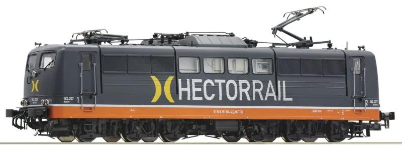 Elektrolokomotive BR 162 Hectorrail, Sound, DC, Spur H0