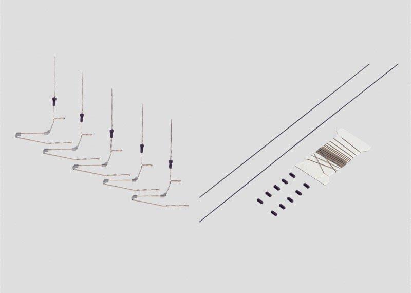 Quertragwerk-Set als Bausatz H0