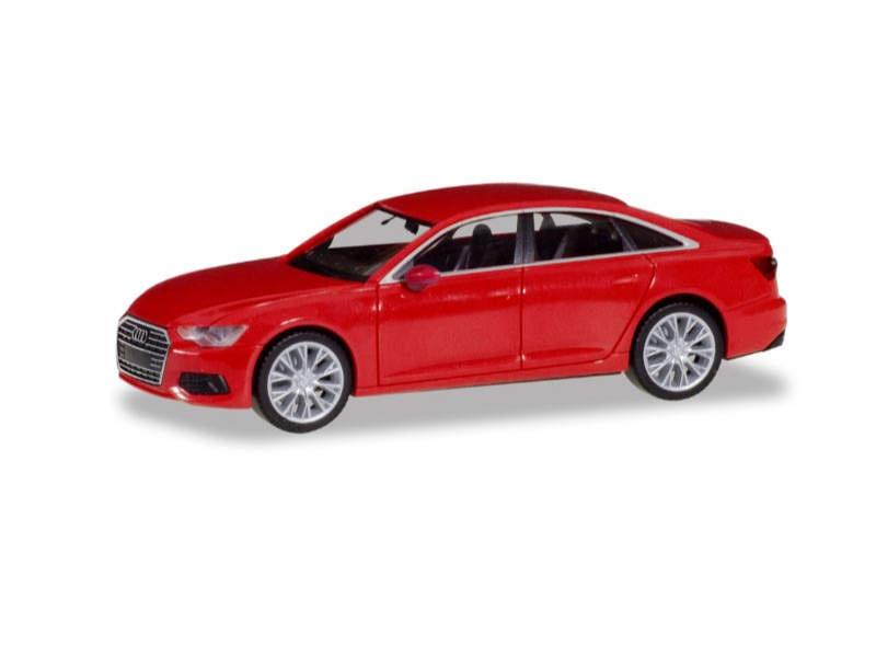 Audi A6 Limousine, misanorot metallic, 1:87 / H0