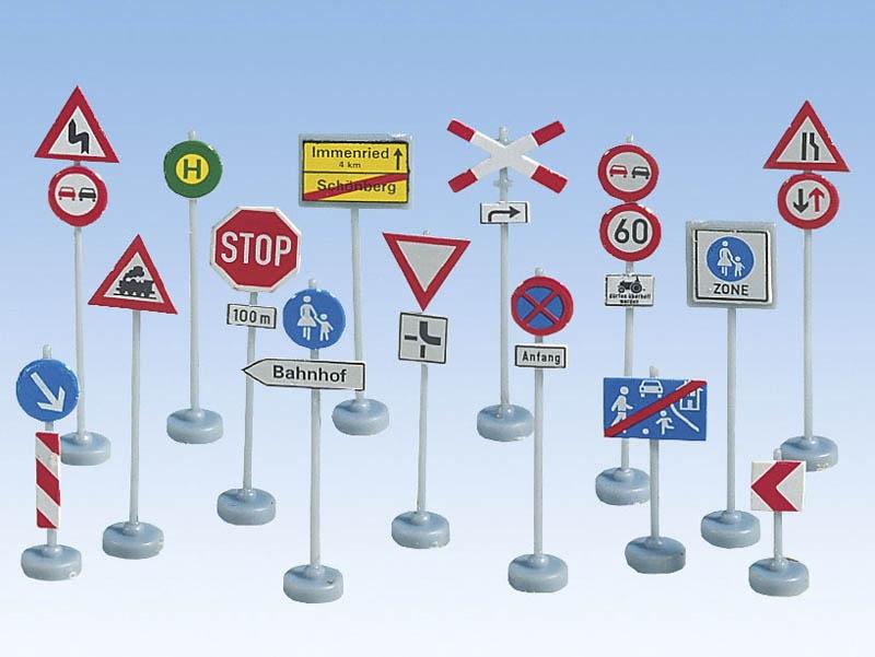 Verkehrszeichen Spur H0