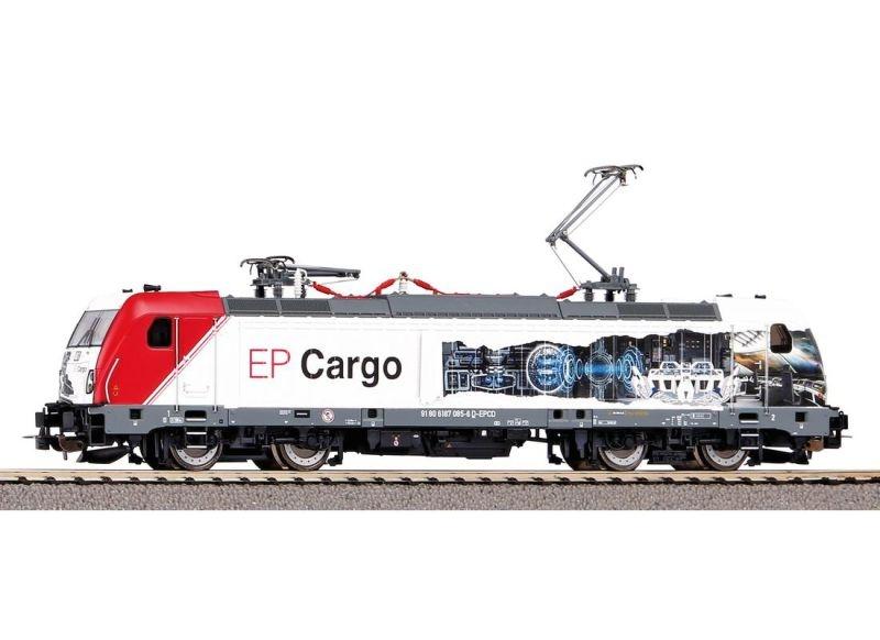 E-Lok BR 187 der EP Cargo, DC, Spur H0