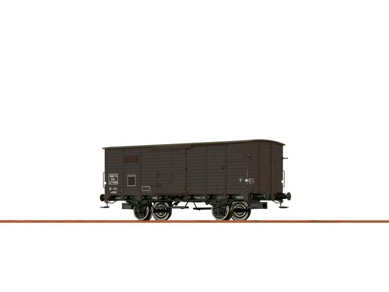 Gedeckter Güterwagen KKu der SNCF, III, DC, Spur H0