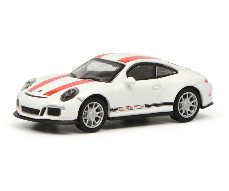 Porsche 911 R (991), weiß/rot 1:87 / Spur H0