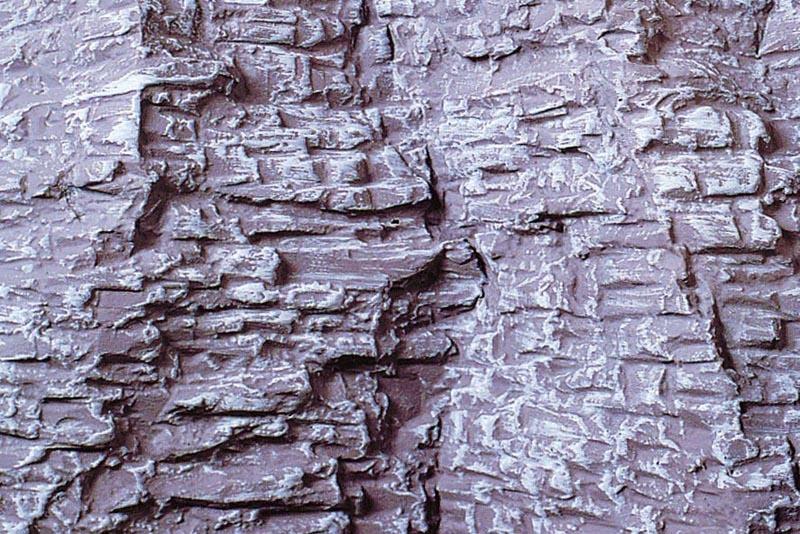 Felsfolie Schichtgestein 40x18 cm, 2 Stück