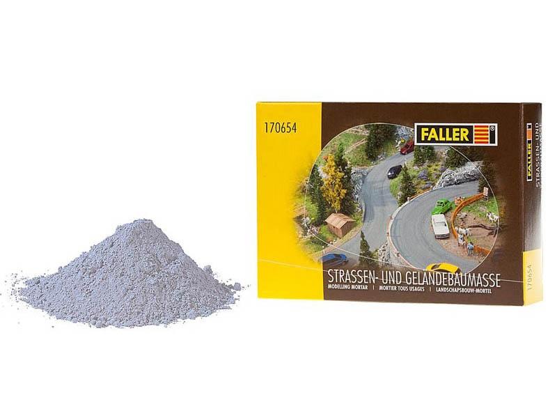 Straßen- und Geländebau-Spachtelmasse, grau, 500 g