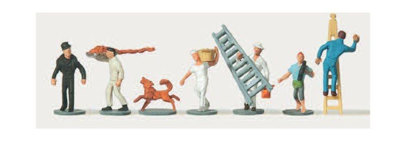 Handwerker Figuren 1:160 / Spur N