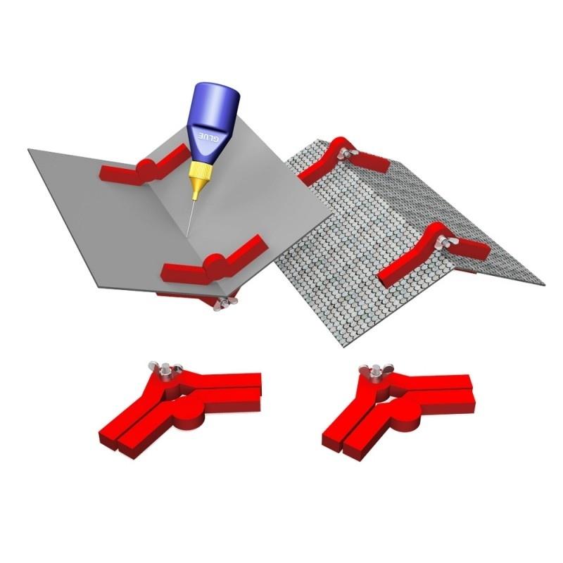 Snap & Glue Frei einstellbarer Winkelmagnet 90°-180° Winkel